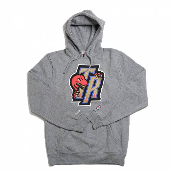 RAPTORS GOLD BITE HOODY GREY
