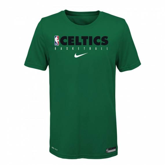 BOSTON CELTICS PRACTICE GRAPHIC TEE (JUNIOR)