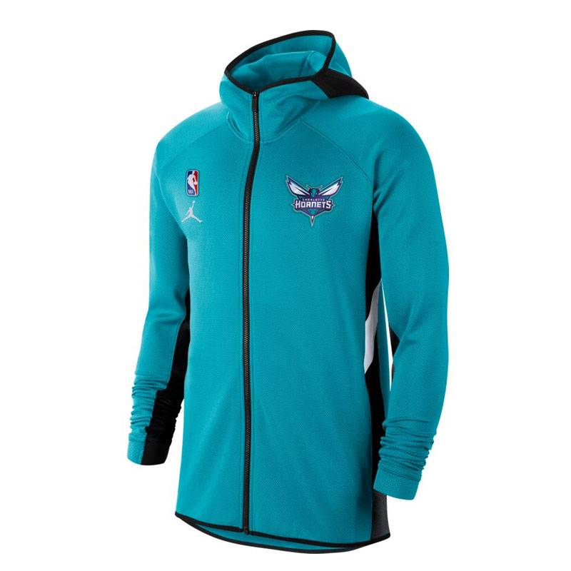 CHARLOTTE HORNETS THERMAFLEX SHOWTIME HOODIE