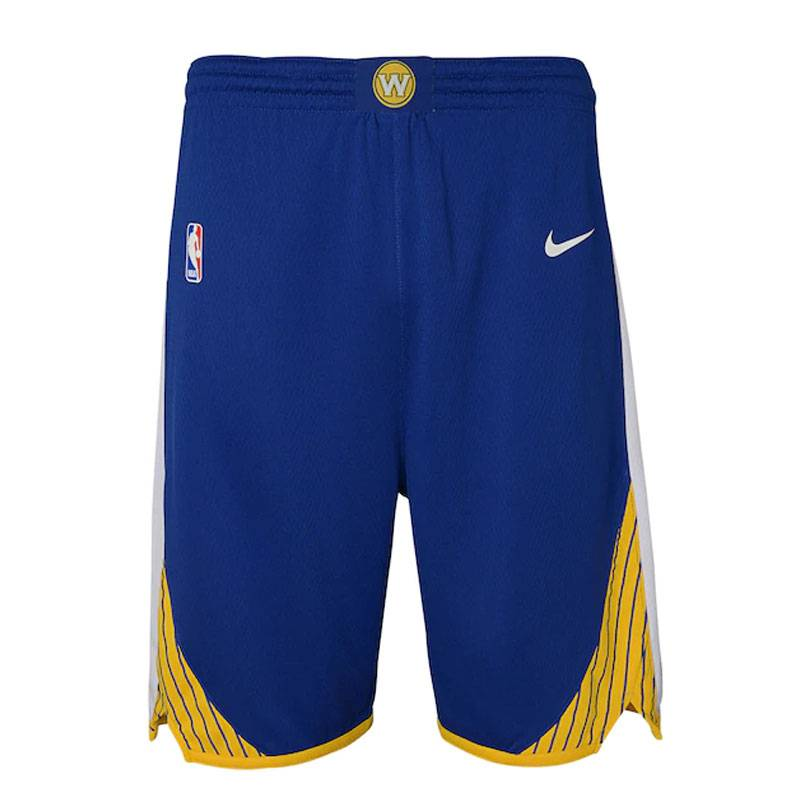 GOLDEN STATE WARRIORS ICON EDITION SWINGMAN SHORTS (JUNIOR)