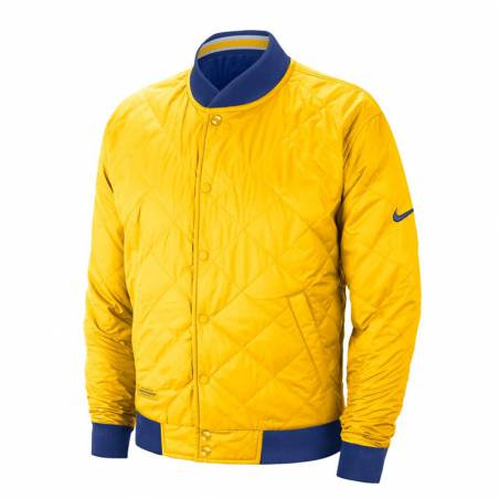 GOLDEN STATE WARRIORS REV COURTSIDE BOMBER JACKET