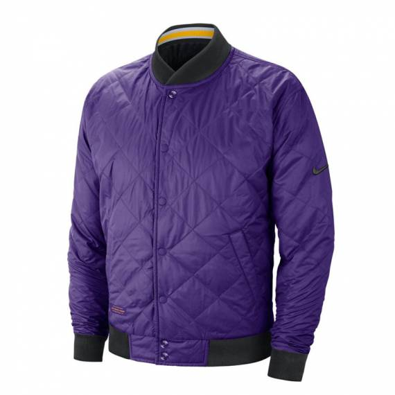 LOS ANGELES LAKERS REV COURTSIDE BOMBER JACKET
