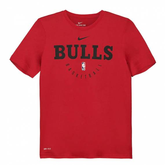 CHICAGO BULLS PRACTICE GRAPHIC TEE (JUNIOR)