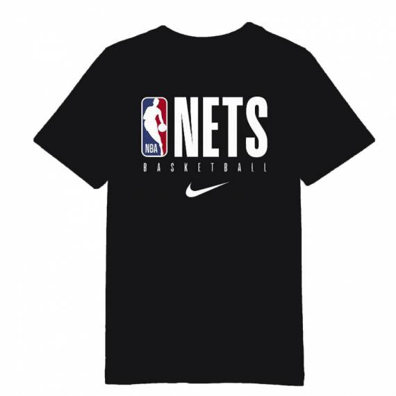 BROOKLYN NETS PRACTICE GRAPHIC TEE (JUNIOR)