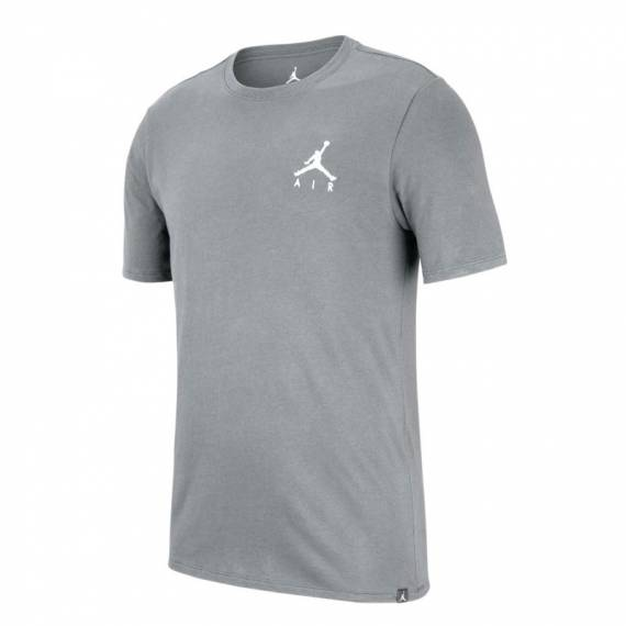 JORDAN JUMPMAN AIR EMBROIDERED GREY