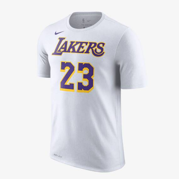 LEBRON JAMES LAKERS N&N TEE WHITE