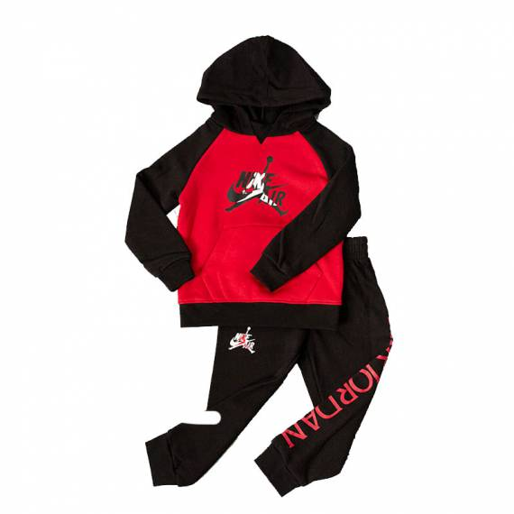JORDAN JUMPMAN CLASSIC PULL&JOGGER FLEECE SET