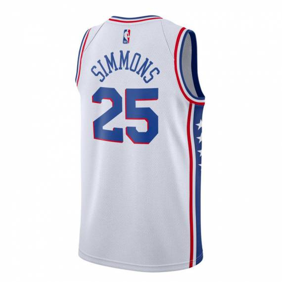 BEN SIMMONS PHILADELPHIA 76ERS ASSOCIATION EDITION SWINGMAN JERSEY 2019