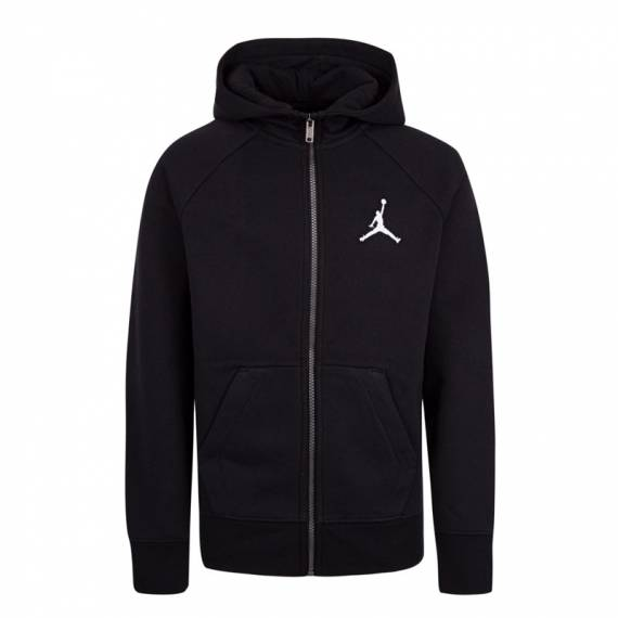 JUMPMAN FLEECE FZ HOODIE BLACK (JUNIOR)