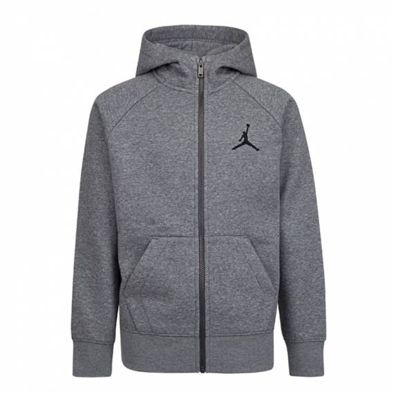 JUMPMAN FLEECE FZ HOODIE GREY (JUNIOR)