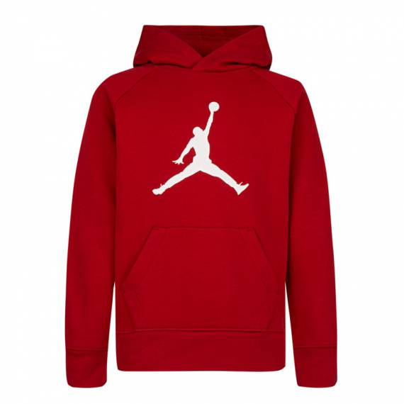 JUMPMAN LOGO PULLOVER RED (JUNIOR)