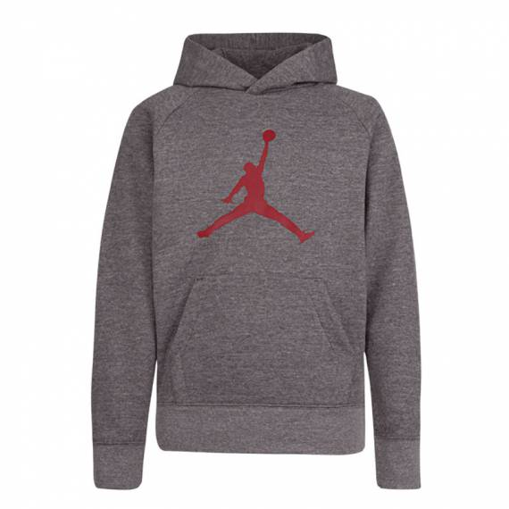 JUMPMAN LOGO PO HOODIE GREY (JUNIOR)
