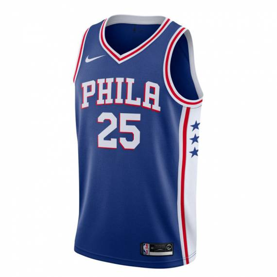 BEN SIMMONS PHILADELPHIA 76ERS ICON EDITION SWINGMAN JERSEY 2019