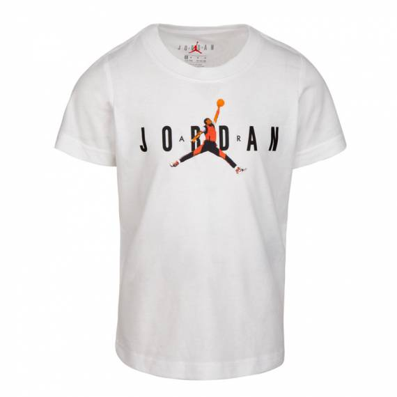 JORDAN PHOTO JUMPMAN TEE WHITE (JUNIOR)