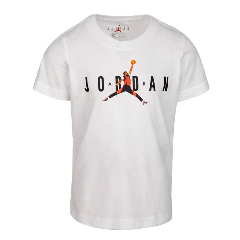 JORDAN PHOTO JUMPMAN TEE WHITE (JUNIOR)
