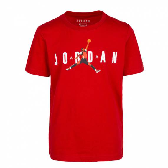 JORDAN PHOTO JUMPMAN TEE RED (JUNIOR)