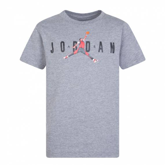 JORDAN PHOTO JUMPMAN TEE GREY (JUNIOR)