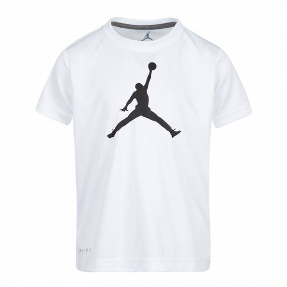 JUMPMAN LOGO DF TEE WHITE (JUNIOR)