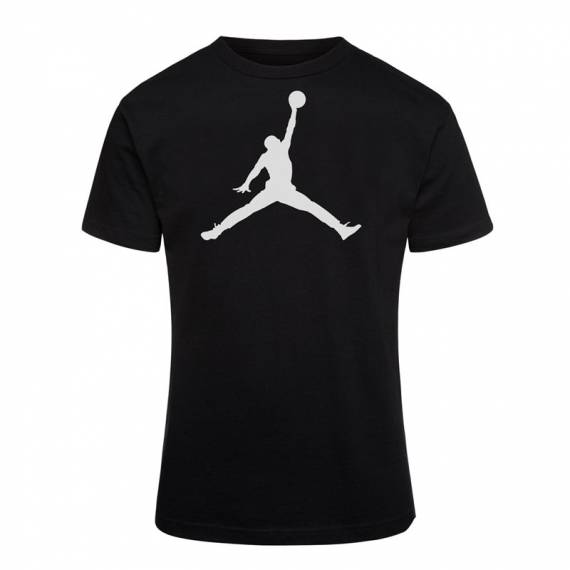 JUMPMAN LOGO DF TEE BLACK (JUNIOR)