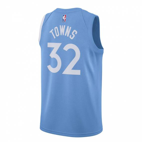 KARL-ANTHONY TOWNS MINNESOTA TIMBERWOLVES CITY EDITION SWINGMAN JERSEY 2019