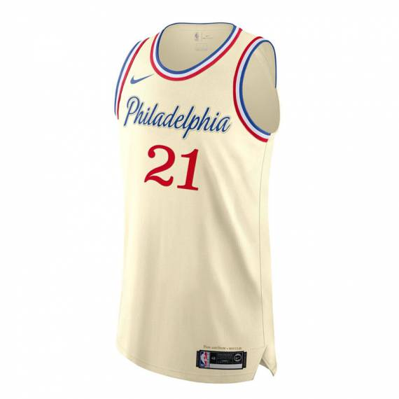 JOEL EMBIID PHILADELPHIA 76ERS CITY EDITION SWINGMAN JERSEY 2019 (JUNIOR)