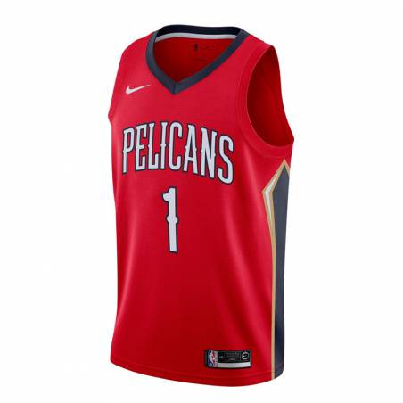 ZION WILLIAMSON NEW ORLEANS PELICANS STATEMENT EDITION SWINGMAN JERSEY 2019 (JUNIOR)