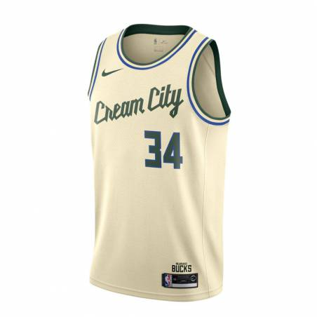 GIANNIS ANTETOKOUNMPO MILWAUKEE BUCKS CITY EDITION SWINGMAN JERSEY 2019 (JUNIOR)