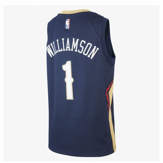 ZION WILLIAMSON NEW ORLEANS PELICANS ICON EDITION SWINGMAN JERSEY 2019 (JUNIOR)