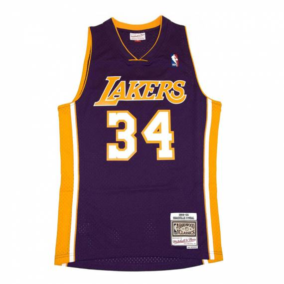 SHAQUILLE O'NEAL LOS ANGELES LAKERS HARDWOOD CLASSICS 99-00