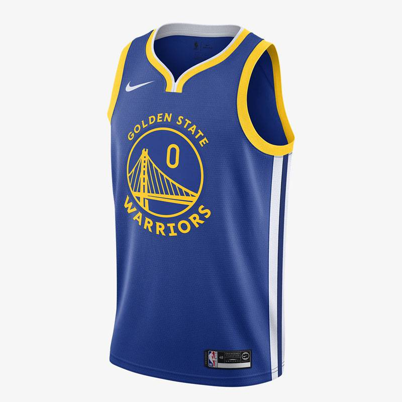 D'ANGELO RUSSELL GOLDEN STATE WARRIORS ICON EDITION SWINGMAN JERSEY 2019 (JUNIOR)
