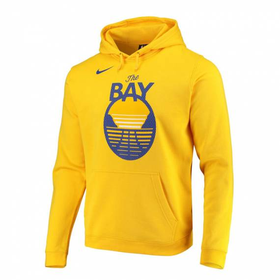 GOLDEN STATE WARRIORS LOGO HOODIE ST ED 2019 (JUNIOR)
