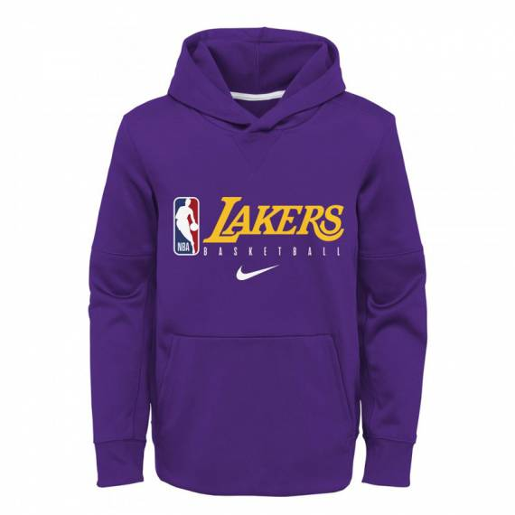 LOS ANGELES LAKERS SPOTLIGHT THERMA HOODIE 2019 (JUNIOR)