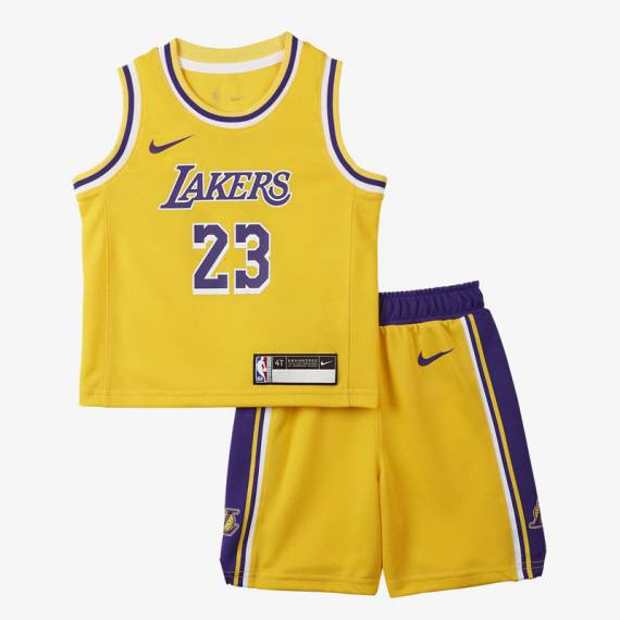 LEBRON JAMES LAKERS NBA REPLICA (INFANTIL)