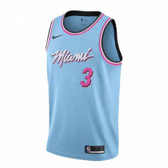DWYANE WADE MIAMI HEAT CITY EDITION SWINGMAN JERSEY 2019 (JUNIOR)