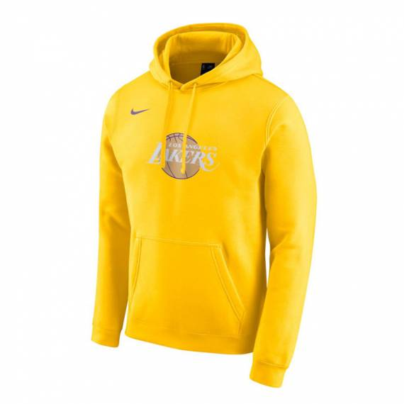 LOS ANGELES LAKERS CITY EDITION LOGO HOODIE 2019