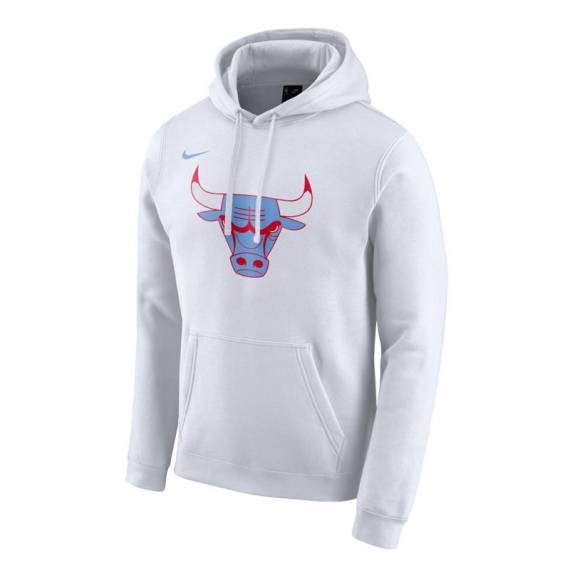 CHICAGO BULLS CITY EDITION LOGO HOODIE 2019