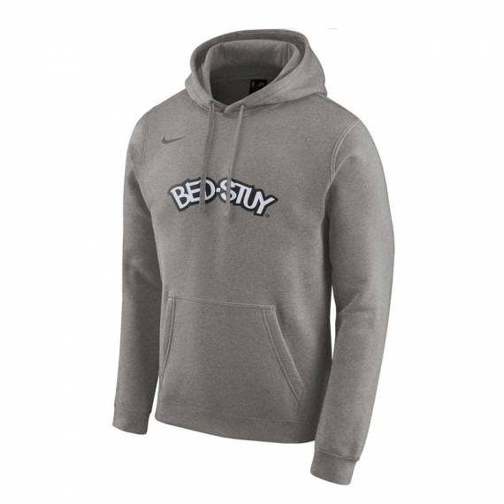 BROOKLYN NETS CITY EDITION LOGO HOODIE 2019