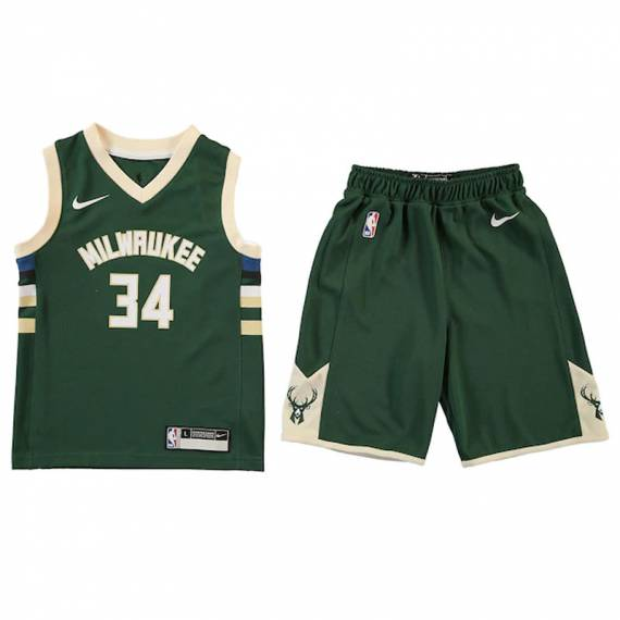 GIANNIS ANTETOKOUNMPO MILWAUKEE BUCKS NBA REPLICA (INFANTIL)