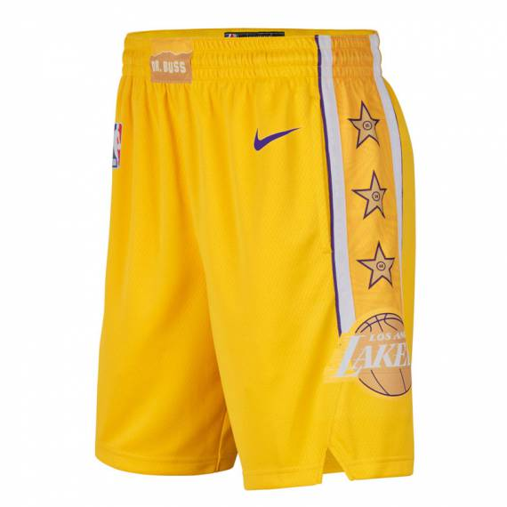 LOS ANGELES LAKERS CITY EDITION SWINGMAN SHORT 2019 (JUNIOR)