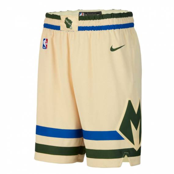 MILWAUKEE BUCKS CITY EDITION SWINGMAN SHORTS 2019 (JUNIOR)