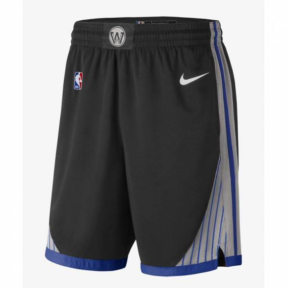 GOLDEN STATE WARRIORS CITY EDITION SWINGMAN SHORTS (JUNIOR)