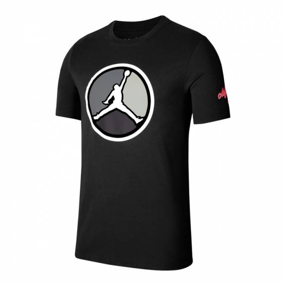 JORDAN REMASTERED HBR TEE BLACK