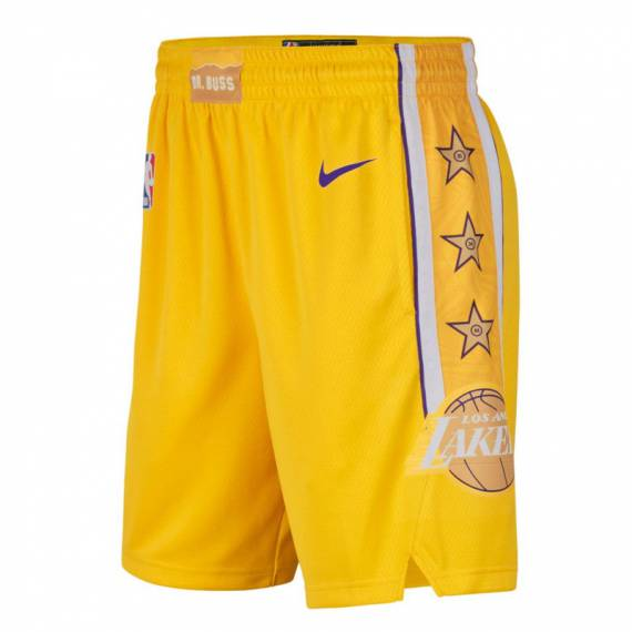 LOS ANGELES LAKERS CITY EDITION SWINGMAN SHORT 2019