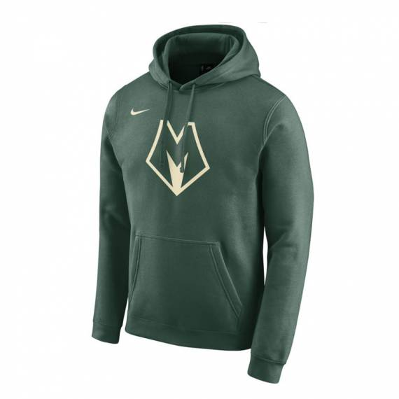 MILWAUKEE BUCKS CITY EDITION LOGO HOODIE (JUNIOR)