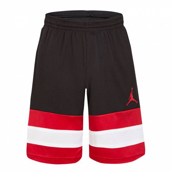 JORDAN JUMPMAN 3STRIPE BBALL SHORT (JUNIOR)
