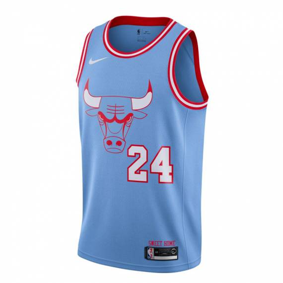 LAURI MARKKANEN CHICAGO BULLS CITY EDITION SWINGMAN JERSEY 2019