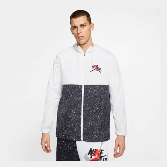 JORDAN JUMPMAN CLASSICS WINDWEAR JACKET WHITE