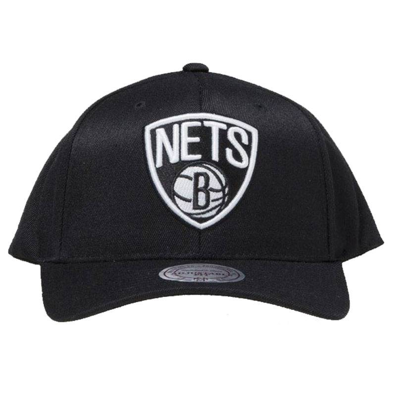 BROOKLYN NETS TEAM LOGO HIGH CROWN 6 PANEL 110 SNAPBACK