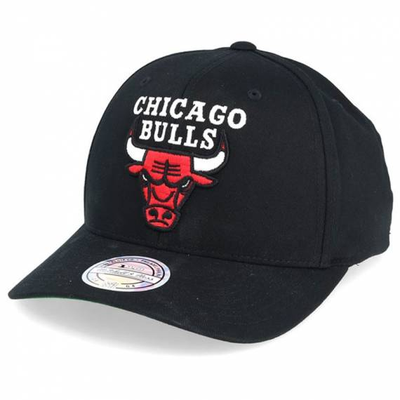 CHICAGO BULLS TEAM LOGO HIGH CROWN 6 PANEL 110 SNAPBACK