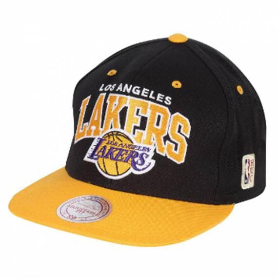 LOS ANGELES LAKERS TEAM ARCH 2 TONE SNAPBACK
